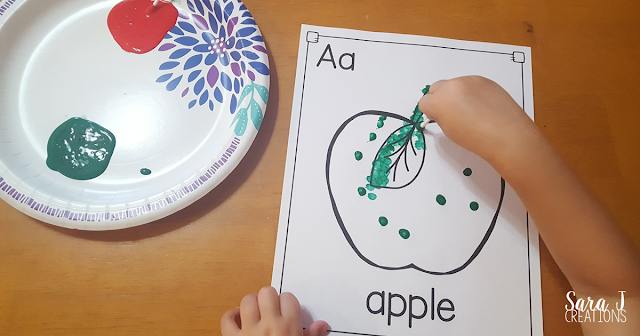 Letter A Activities that would be perfect for preschool or kindergarten. Sensory, art, literacy and alphabet practice all rolled into Letter A fun.