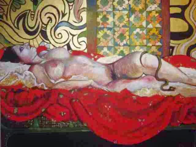 Французская художница. Erika Meriaux