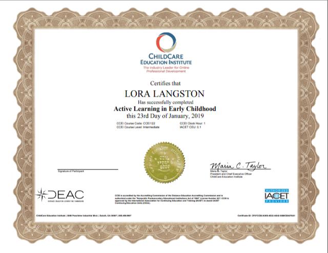ECE Certificate online