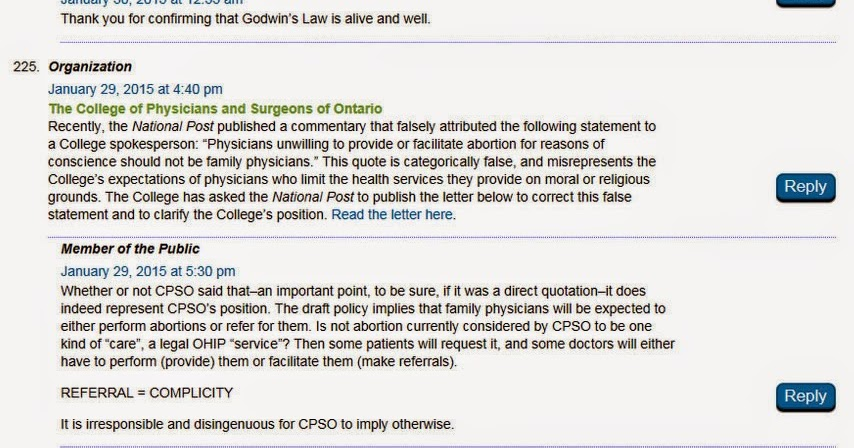 College of Physicians and Surgeons of Ontario - Google+