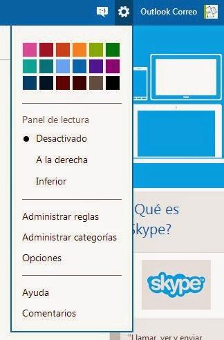 Outlook.com: agrega  imágenes y vínculos como  firma de tus correos