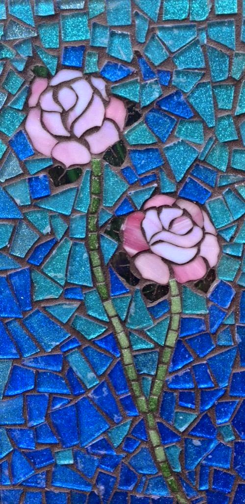 Sandy rose mosaics mosaic artist for Mosaic painting meaning
