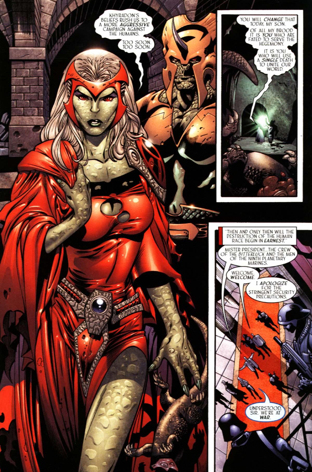 Read online Sigil (2000) comic -  Issue #21 - 16
