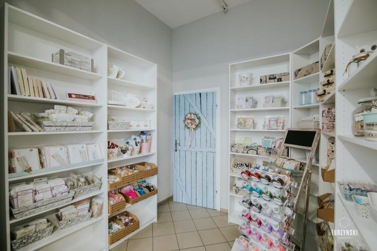 Hobby Place sklep dla kreatywnych wnetrze