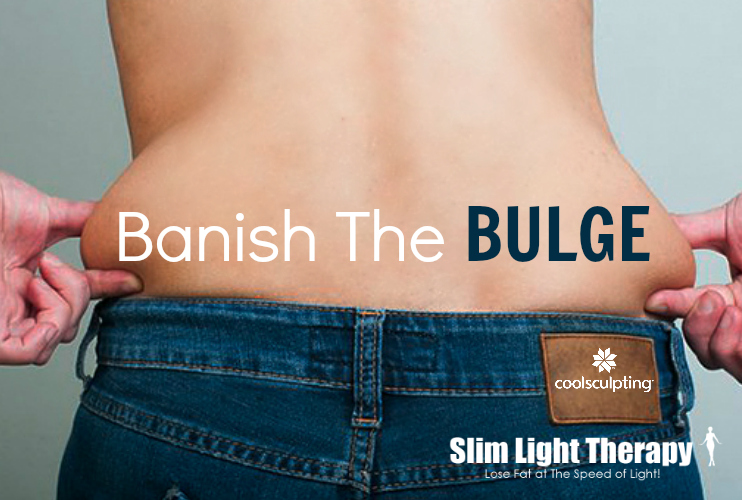 Banish The Bulge With CoolSculpting And Slim Light LED Therapy with Slim Silhouettes and Barbies Beauty Bits