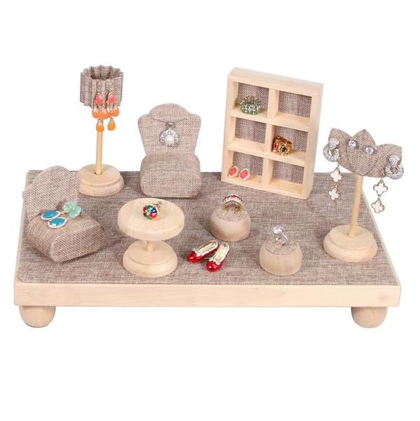 Shop Wholesale Linen Mini Furniture Jewelry Display Set at Nile Corp