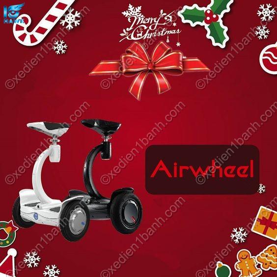 Xe điện Scooter Airwheel S8 2 bánh món quà được mong chờ nhất