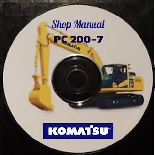 Shop Manual Komatsu pc200-7 pc200lc-7 pc220-7 pc220lc-7