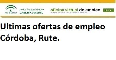 Córdoba, Rute. Lanzadera de Empleo Virtual