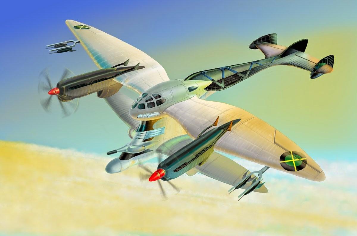 Art Contrarian: Dieselpunk Airplanes  Art Contrarian:...