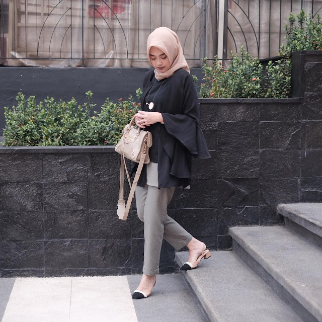 Kombinasi Style Hijab Remaja Kekinian