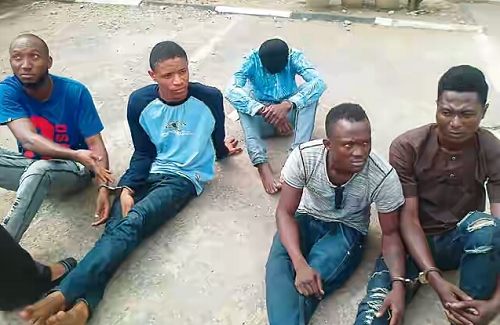 Police Arrests Five 'Businessmen' Who Gang-Rape Women For Blackmail Arrested - Photo