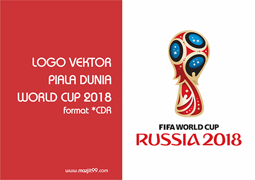 Free Download Logo Piala Dunia World Cup 2018 Russia | Download Gratis Logo Piala Dunia 2018 | www.mazjit99.com