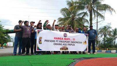 Harga Mati, Orang Papua Harus Pimpin Freeport Indonesia!