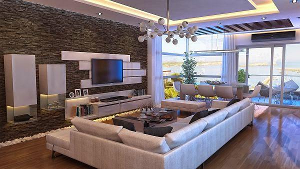 sala decorada con elegancia