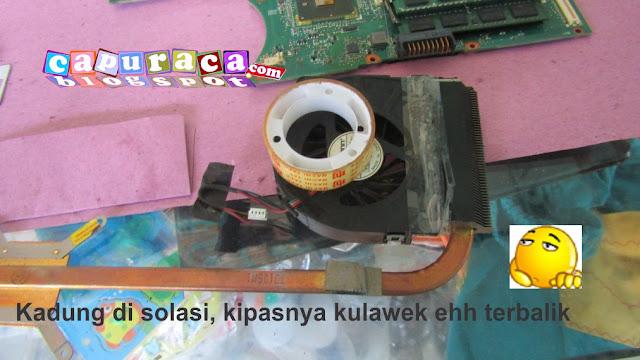 Cara Bersihkan Kipas Pendingin Laptop Asus A42F