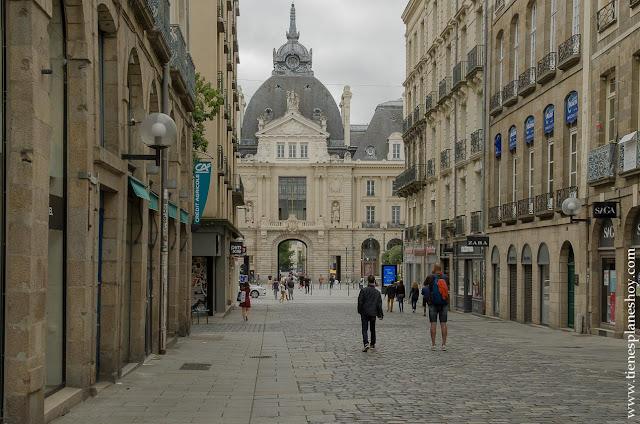 VIsitar Rennes viaje Bretaña Normandia Francia