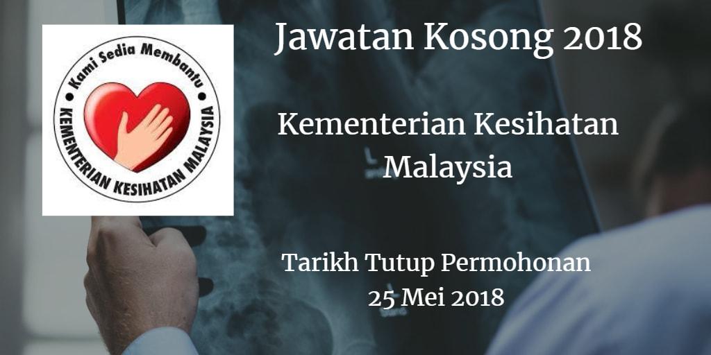 Jawatan Kosong KKM 25 Mei 2018