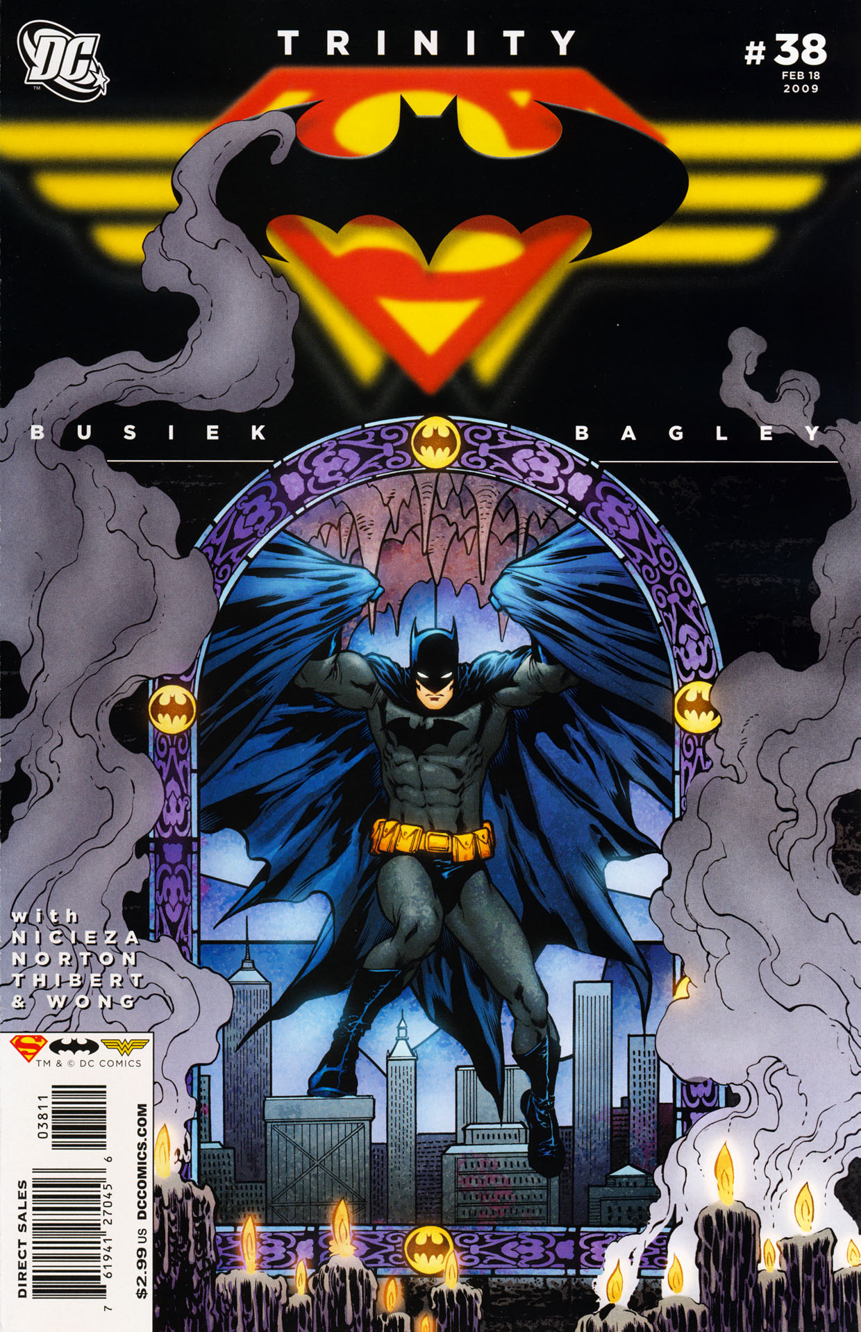Read online Trinity (2008) comic -  Issue #38 - 1