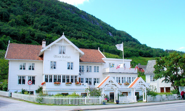 After lunch at the picturesque Utne Hotel, the current owner told us about the friendly ghost, Mother Utne, who continues to manage this inn after her passing. Mother Utne is just one of the ghosts we'll meet along the way on our journey through Norway.
