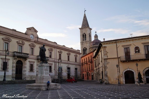 Sulmona, Piazza XX Settembre