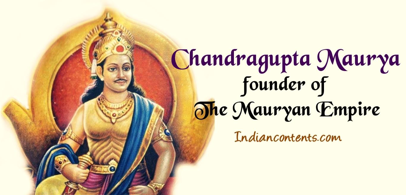 chandragupta maurya Queen nandini – queen niadrus – or chandravansham nandini – treaty of marriage with chandragupta maurya around 323 bc, chandragupta maurya was looking for support to fight against alexander.