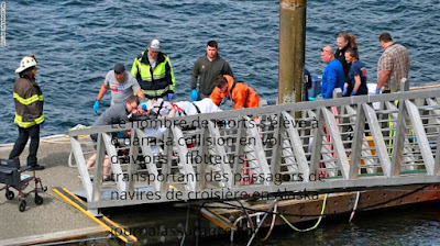 hydravions transportant des passagers de navires de croisière en Alaska