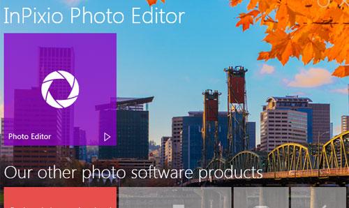 Inilah skrinsot InPixio Photo Editor Premium Gratisnya.
