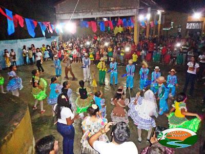 Chicó Maria realiza linda festa junina