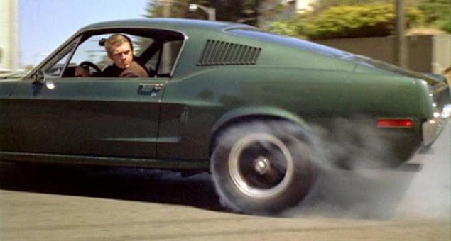 Steve McQueen Bullit Mustang
