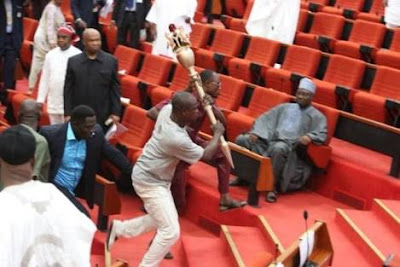 How Thugs Invaded Senate, Took Away Mace (DETAILS)