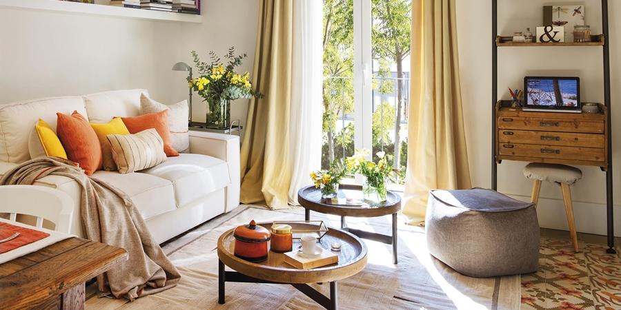 wystrój wnętrz, wnętrza, urządzanie mieszkania, dom, home decor, dekoracje, aranżacje, styl vintage, vintage, małe mieszkania, jasne wnętrza, drewno