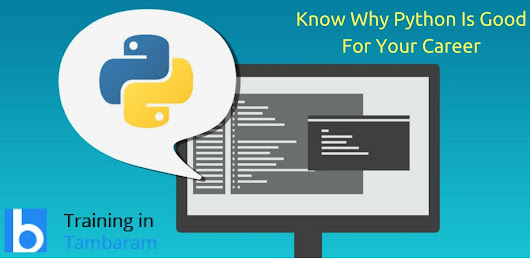 Know Why Python Is Good For Your Career