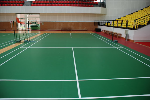 Jasa Kontraktor Lapangan Olahraga : Lapangan Badminton