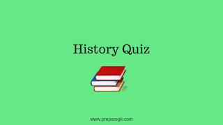 History Quiz-2