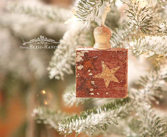 Wood Scrap Ornaments, Bliss-Ranch.com