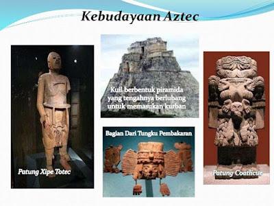 Kebudayaan peradaban Suku Aztek - berbagaireviews.com