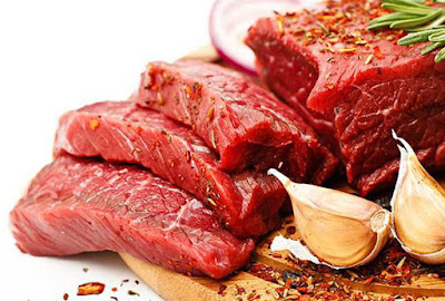 Beef and meat are rich in zinc iron protein and B vitamins good for eyes