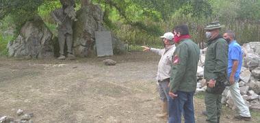 Jehyson Guzmán constató avance de obras en parque Cuevas del Quebradón