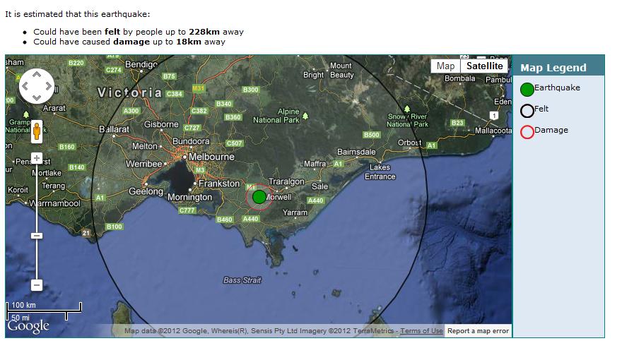 Earthquake Watch Australia / Pacific: 5.3 Magnitude Shakes ...