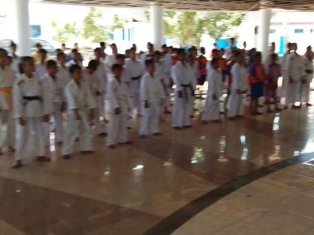 Satpol PP Gelar Kejuaraan Karate Pelajar di Kepulauan Tanimbar