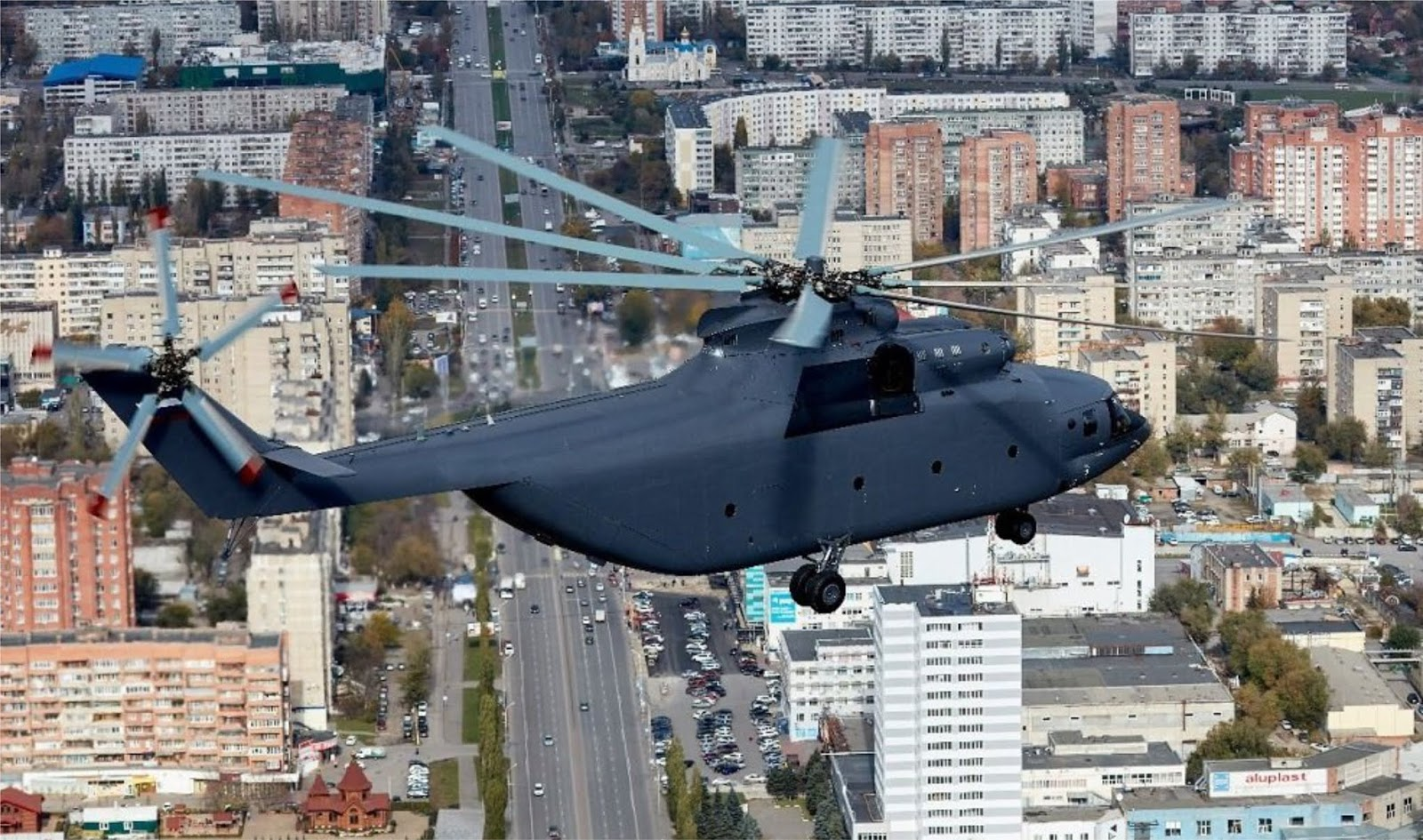 Helikopter terberat di dunia versi baru akan ditampilkan di Army-2018
