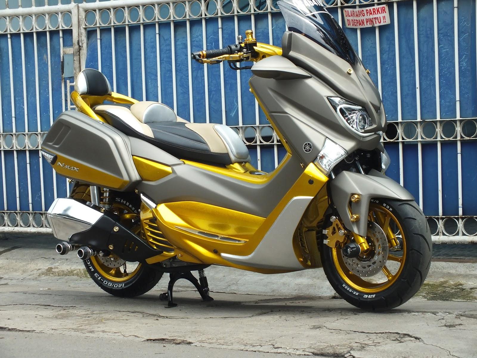 Download 59 Modifikasi Cat Yamaha Nmax Terunik Kempoul Motor
