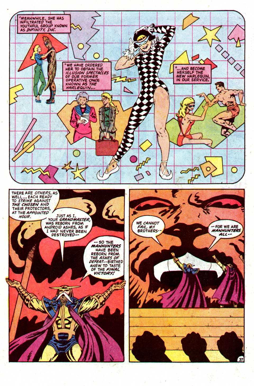 Read online Secret Origins (1986) comic -  Issue #22 - 38