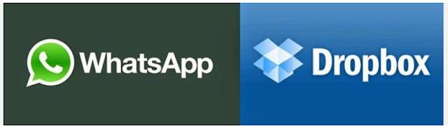Cara menautkan Link Foto WhatsApp ke DropBox