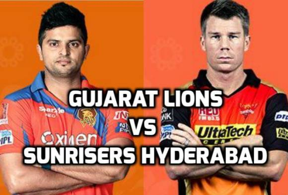 Watch Gujarat Lions GL Vs Sunrisers Hyderabad SRH IPL Live Streaming 2016