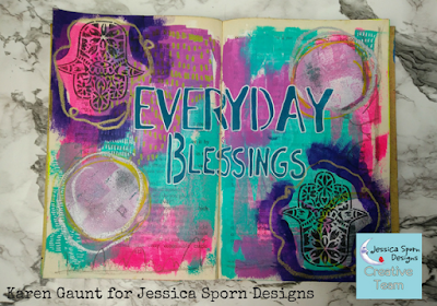 How to Create a Blessings Journal - Creative Team Thursday with Karen Gaunt