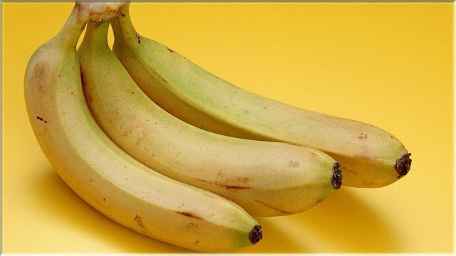wallpaper buah pisang segar