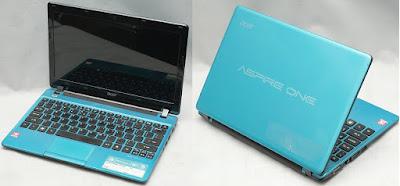 Jual Netbook Bekas Acer AOD 725