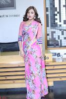 Angela Krislinzki Rogue Movie Fame Telugu Actress in Saree Backless Choli 077.JPG